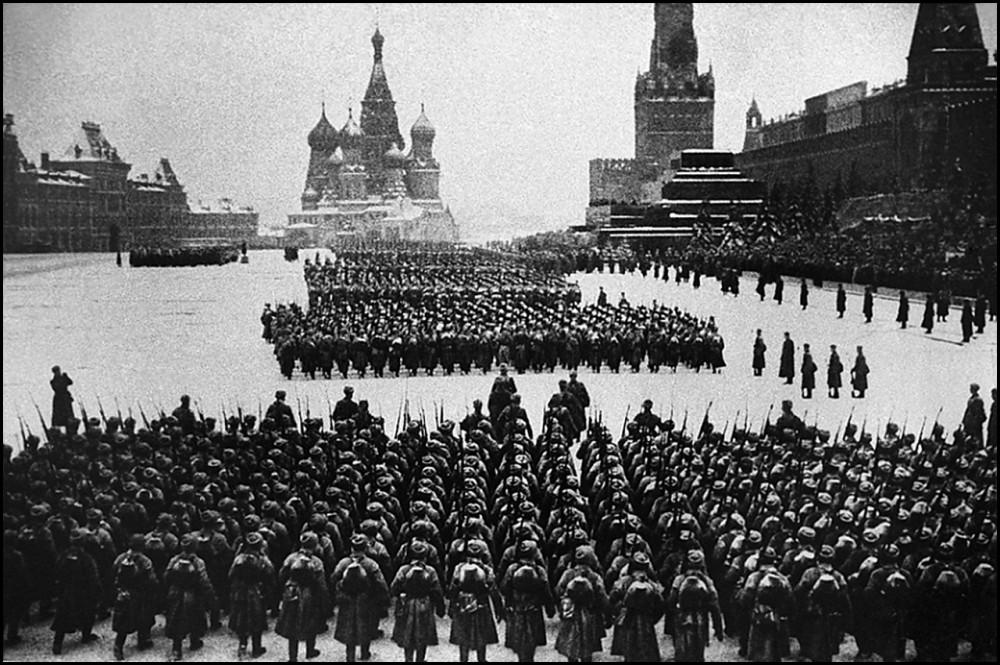 Quảng trường Đỏ, ngày 7/11/1941