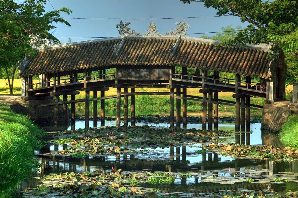 Chùm ảnh: Cầu ngói Thanh Toàn – nét đẹp cổ xưa ở miền quê xứ Huế