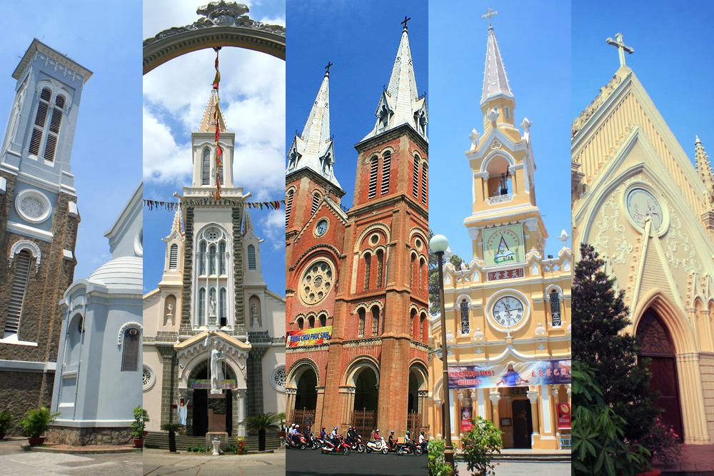 Chùm ảnh: Điểm danh 10 nhà thờ Công giáo cổ của Sài Gòn