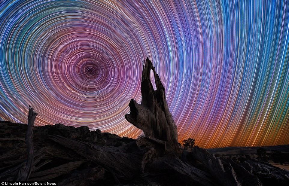 Màu sắc đa dạng là kết quả của nhiệt độ bề mặt mỗi ngôi sao, từ vàng, xanh, cam, hồng...