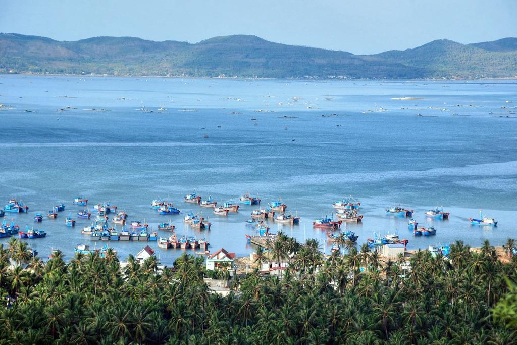 Chùm ảnh: Ngỡ ngàng trước vẻ đẹp của vịnh Xuân Đài Phú Yên