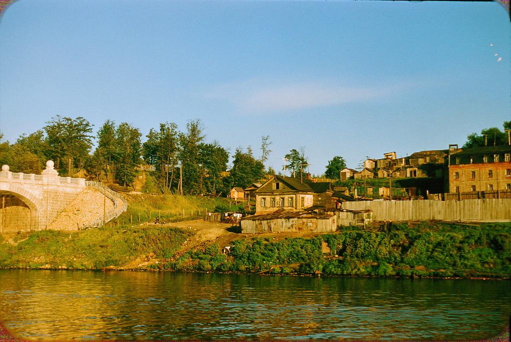 Москва-река у подножия Ленинских гор