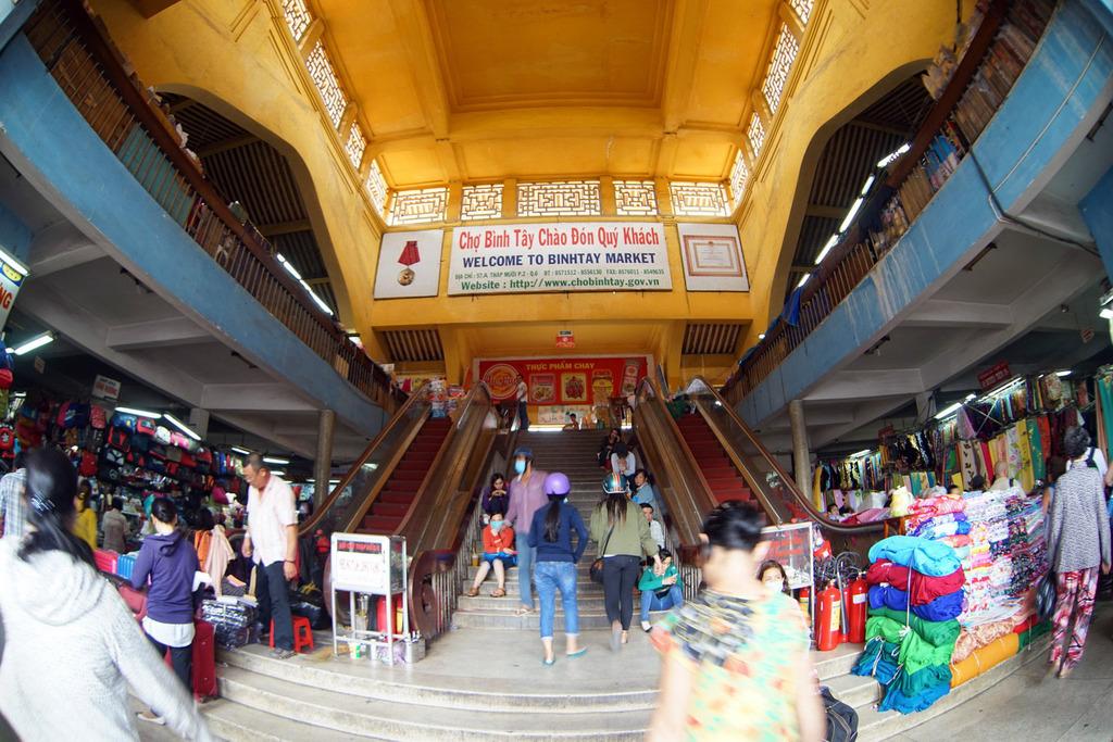 Redsvn Cho Binh Tay 13 - Kiến trúc độc đáo chợ bình tây xưa và nay