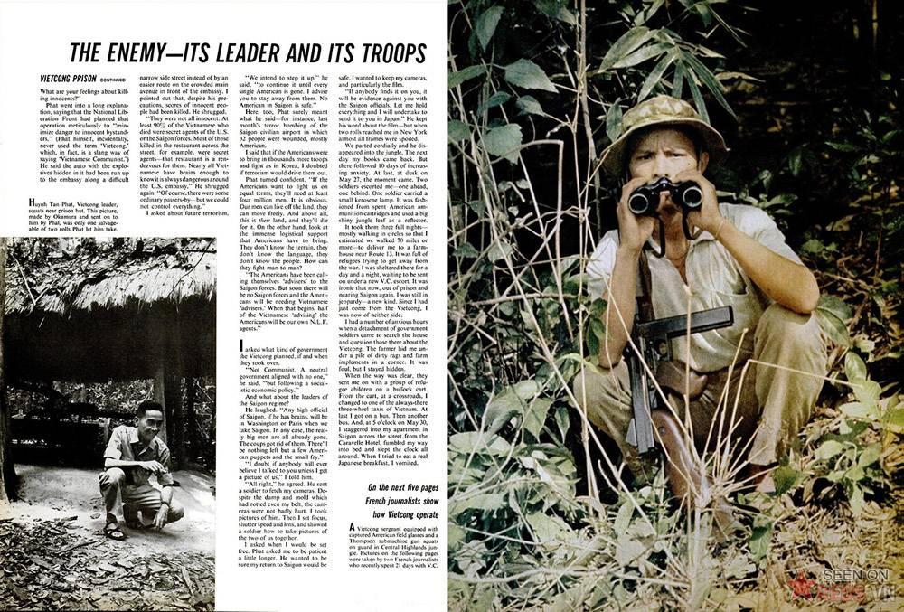 Chùm ảnh: Cuộc sống của quân Giải phóng trong rừng rậm Nam Việt Nam