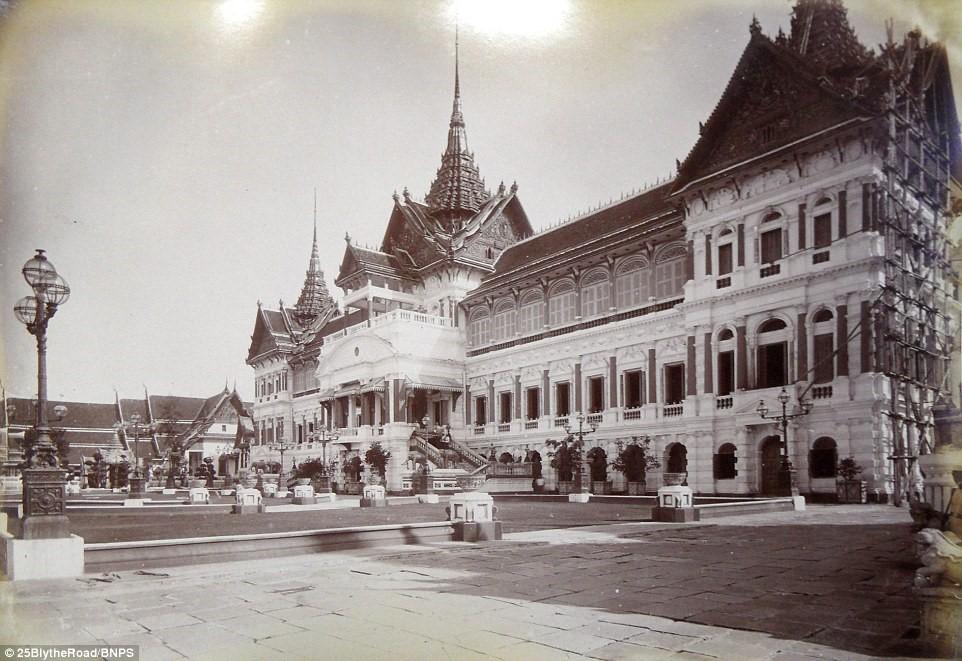 Bộ ảnh đặc biệt về Bangkok 125 năm trước