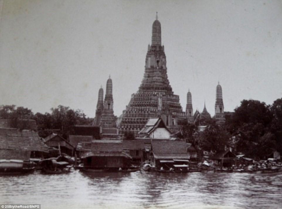 Bo anh dac biet ve thu do Thai Lan 125 nam truoc hinh anh 8