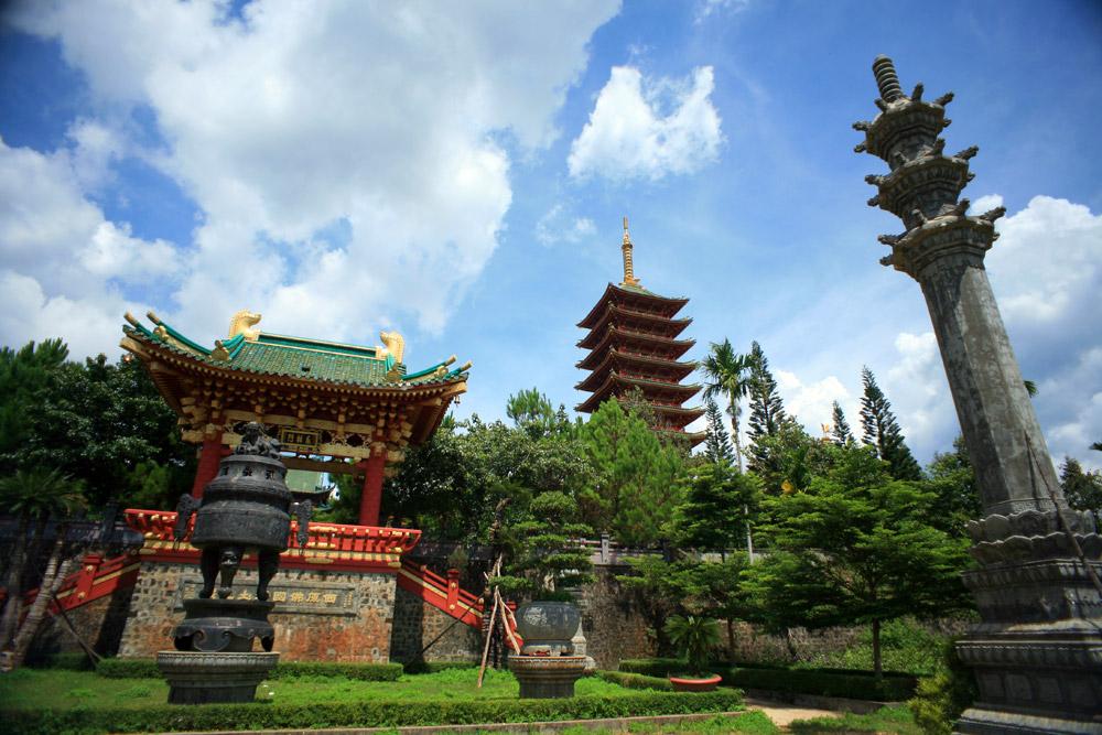 Chùm ảnh: Chùa Minh Thành – ngôi chùa hoành tráng nhất Tây Nguyên