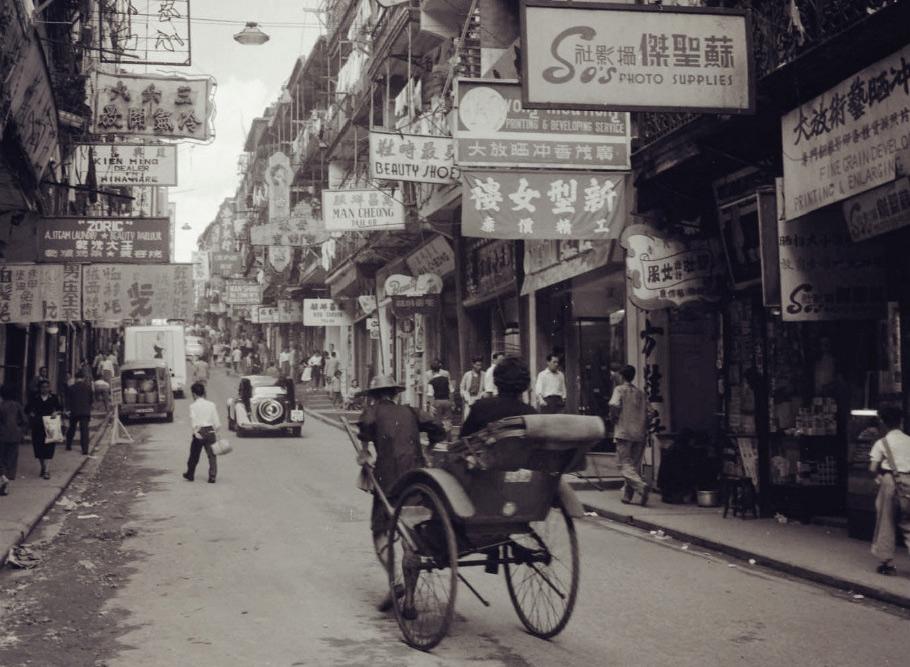 100 bức ảnh để đời về Hồng Kông năm 1955