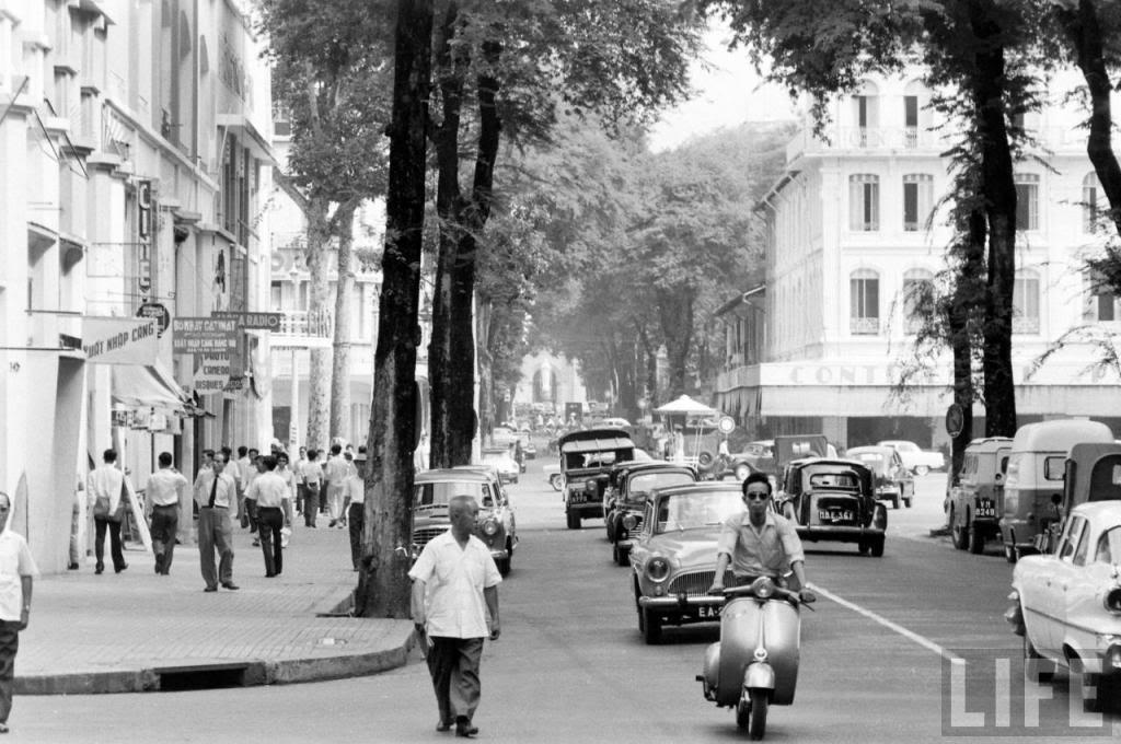 Chùm ảnh: Sài Gòn năm 1961 qua ống kính Life