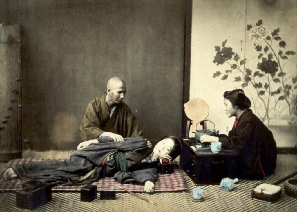 Cuộc sống Nhật Bản 150 năm trước qua những bức ảnh màu