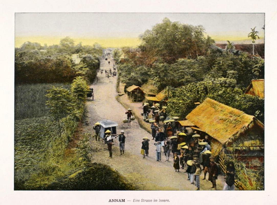 Ảnh màu về Việt Nam cách đây 100 năm của Lemire