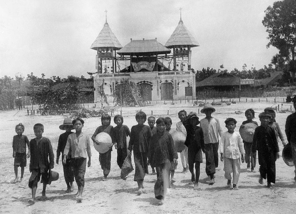 Hình ảnh hiếm có về đạo Cao Đài ở Tây Ninh năm 1930