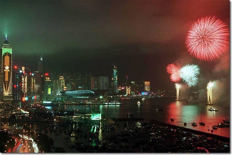 Khoanh khac Anh trao tra Hong Kong cho Trung Quoc 20 nam truoc hinh anh 9
