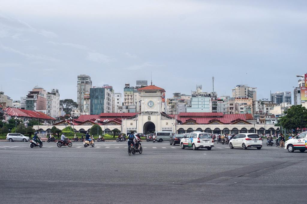 Chùm ảnh: Chợ Bến Thành – một biểu tượng lịch sử của Sài Gòn