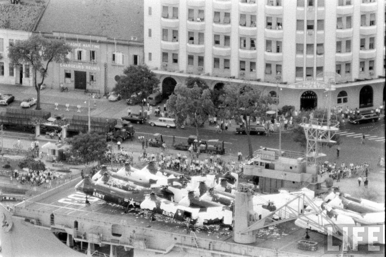 Báo Mỹ viết về vụ đặc công Việt Nam đánh chìm tàu sân bay Mỹ ở Sài Gòn 1964