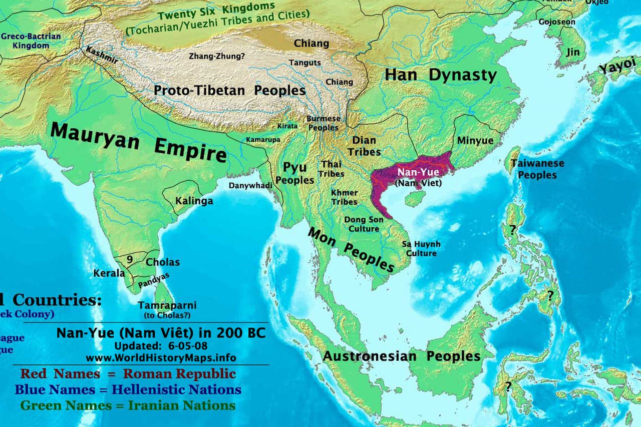 Không thể chối bỏ Triệu Đà và nước Nam Việt?