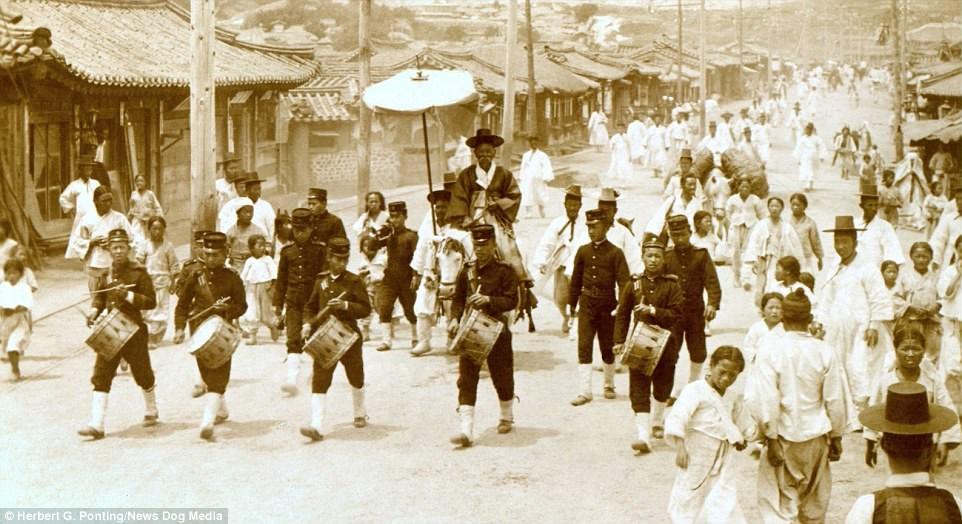 Ảnh hiếm về thời bình cách đây 100 năm trên bán đảo Triều Tiên - ảnh 11