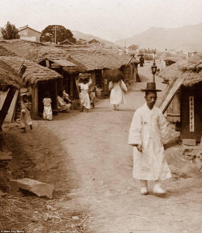 Ảnh hiếm về thời bình cách đây 100 năm trên bán đảo Triều Tiên - ảnh 7