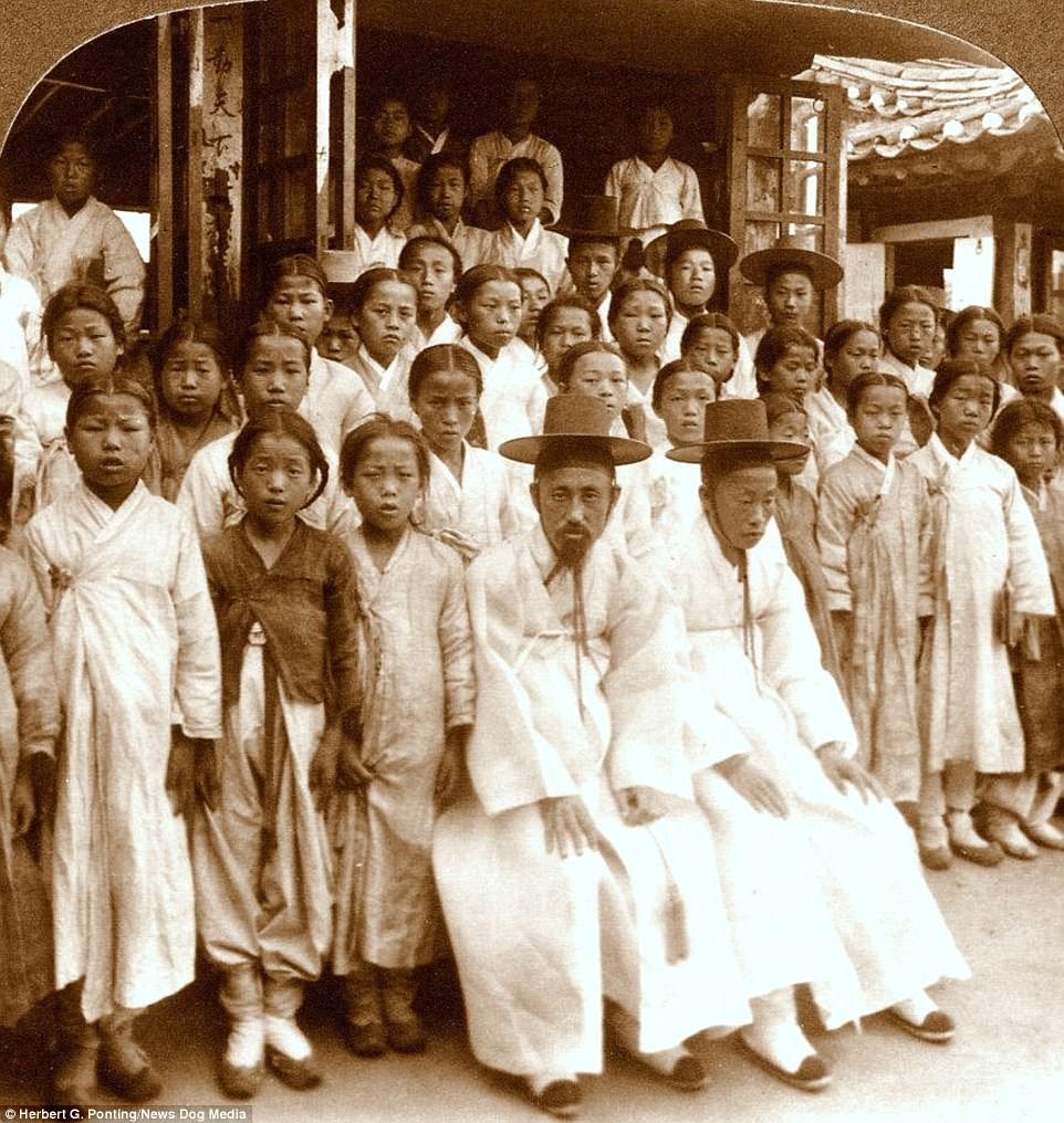 Ảnh hiếm về thời bình cách đây 100 năm trên bán đảo Triều Tiên - ảnh 3