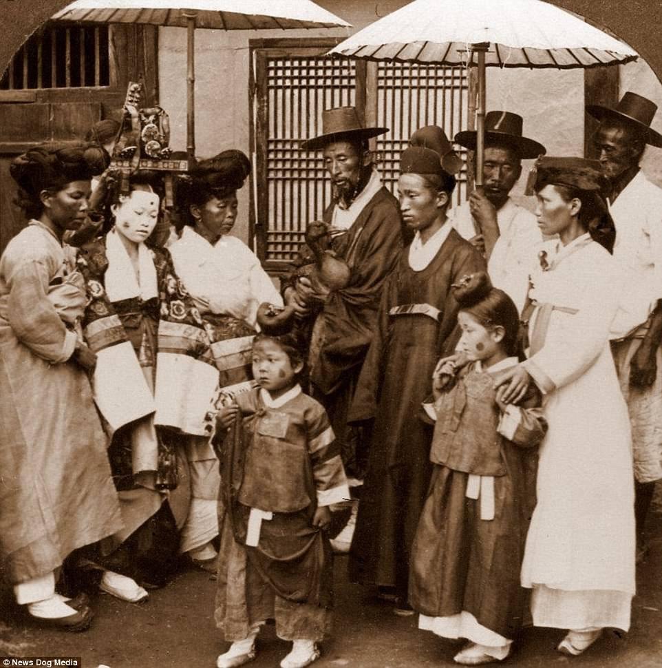 Ảnh hiếm về thời bình cách đây 100 năm trên bán đảo Triều Tiên - ảnh 1