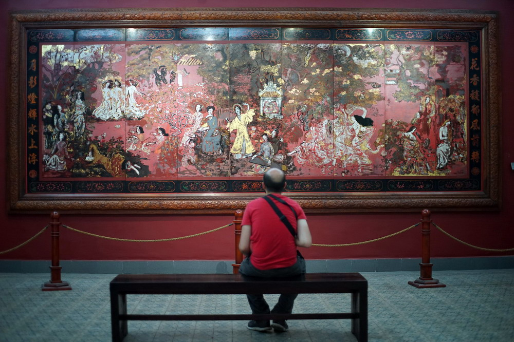 'Vườn xuân Trung Nam Bắc' – kiệt tác để đời về vẻ đẹp của người phụ nữ Việt