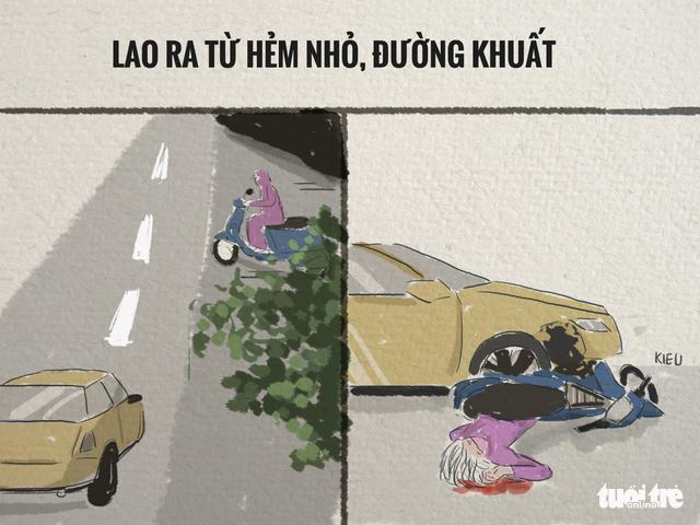 82,9% tai nạn trên đường là va chạm xe máy - Ảnh 3.