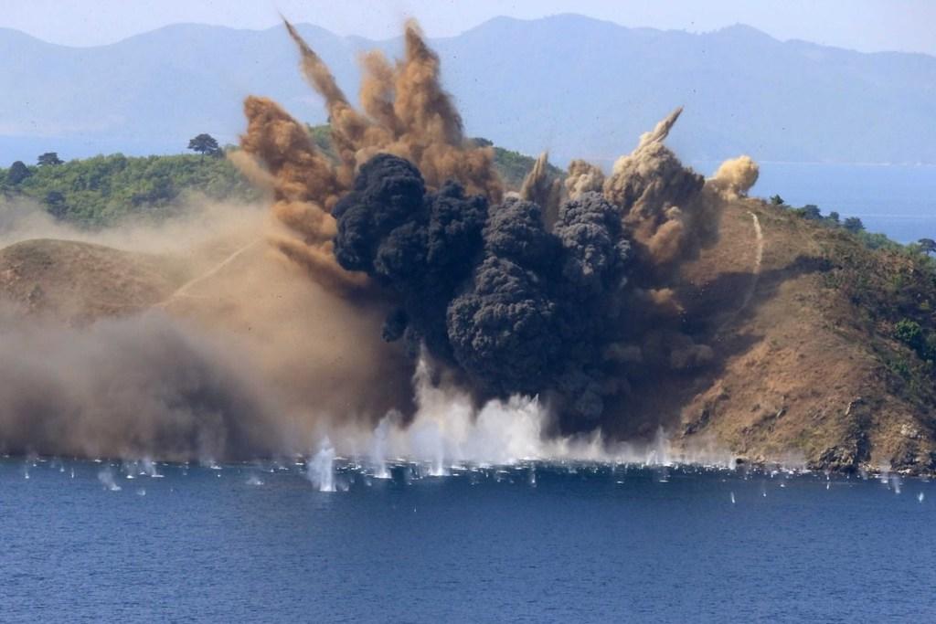 Khám phá thành phố du lịch biển kiêm... bãi thử tên lửa Triều Tiên - ảnh 16