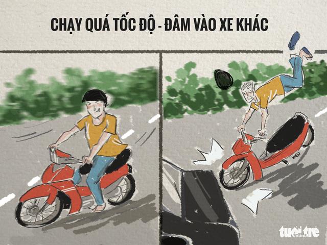 82,9% tai nạn trên đường là va chạm xe máy - Ảnh 6.
