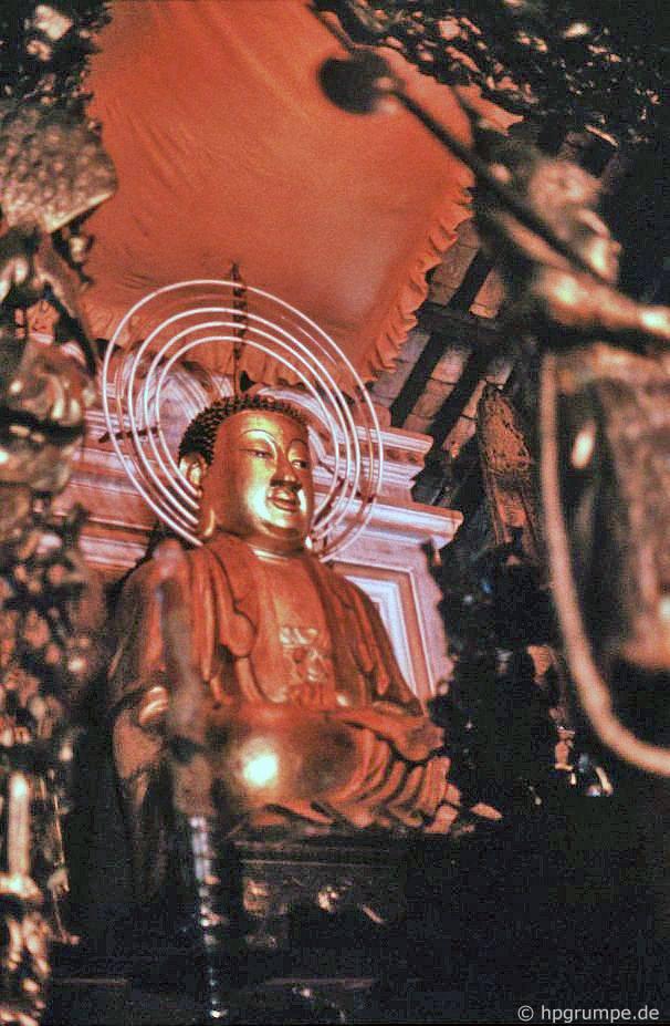 Sài Gòn: Đức Phật ở Chùa Giác Lâm
