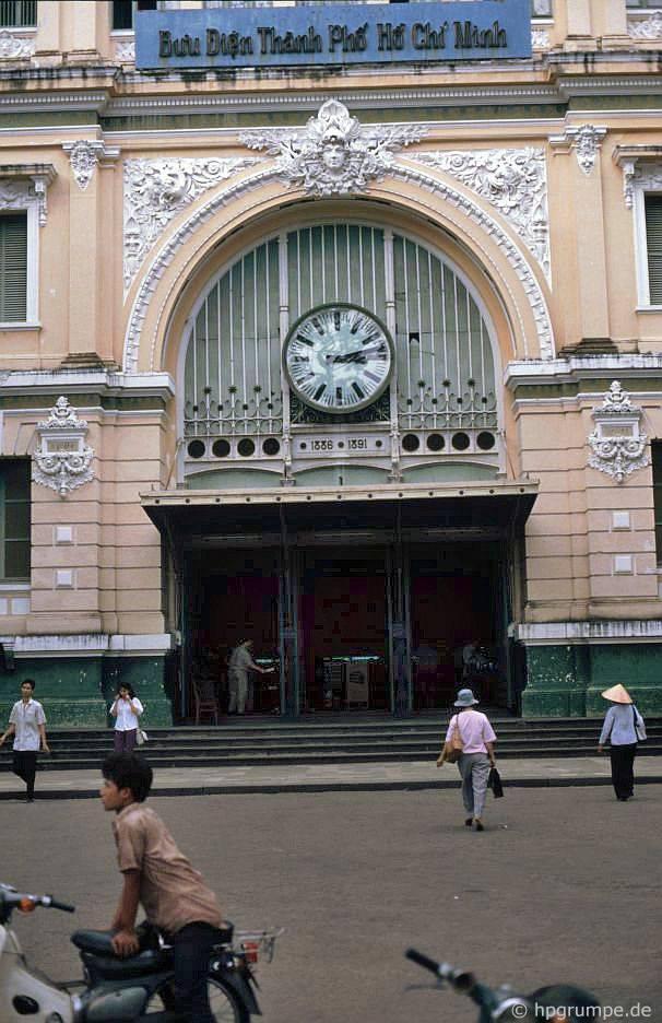 Sài Gòn: Lối vào bưu điện chính