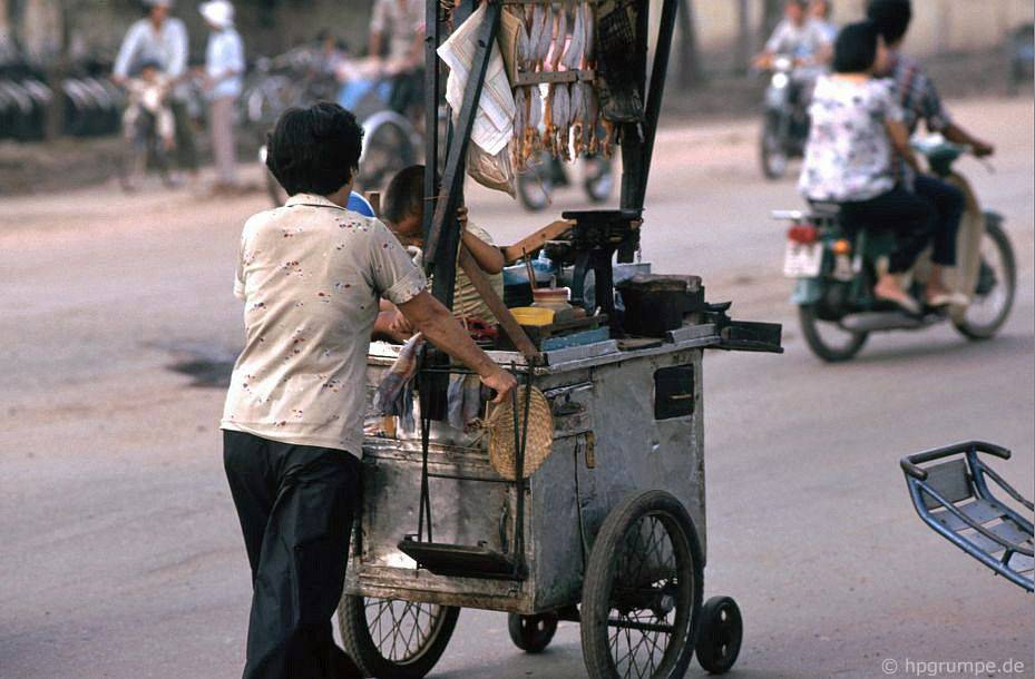 Saigon: Thương nhân đường phố