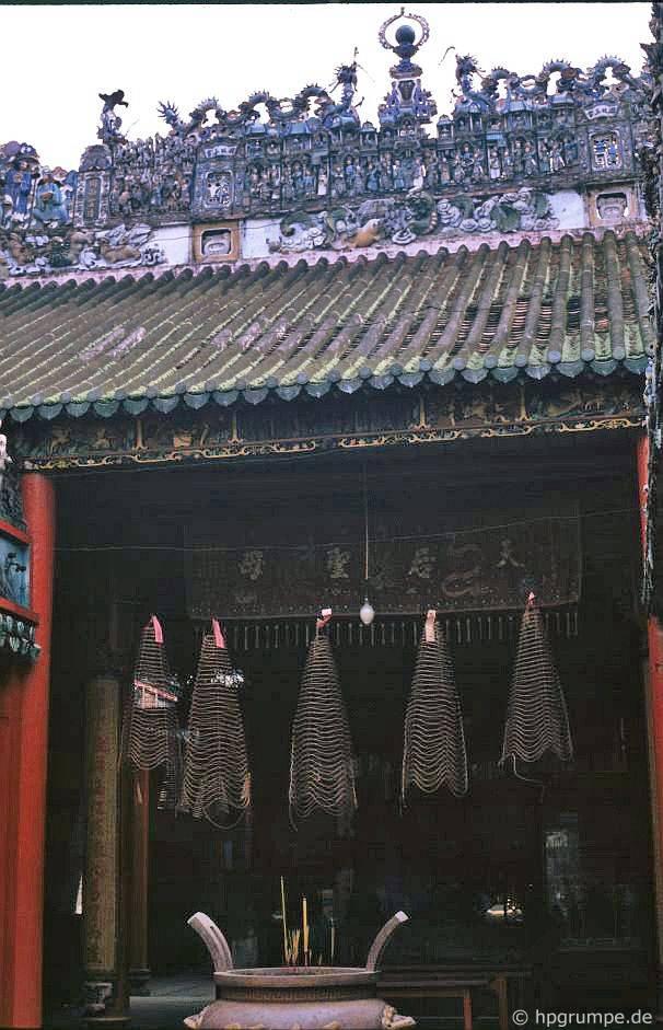 Chùa Sài Gòn: Cholon - Thiên Hậu