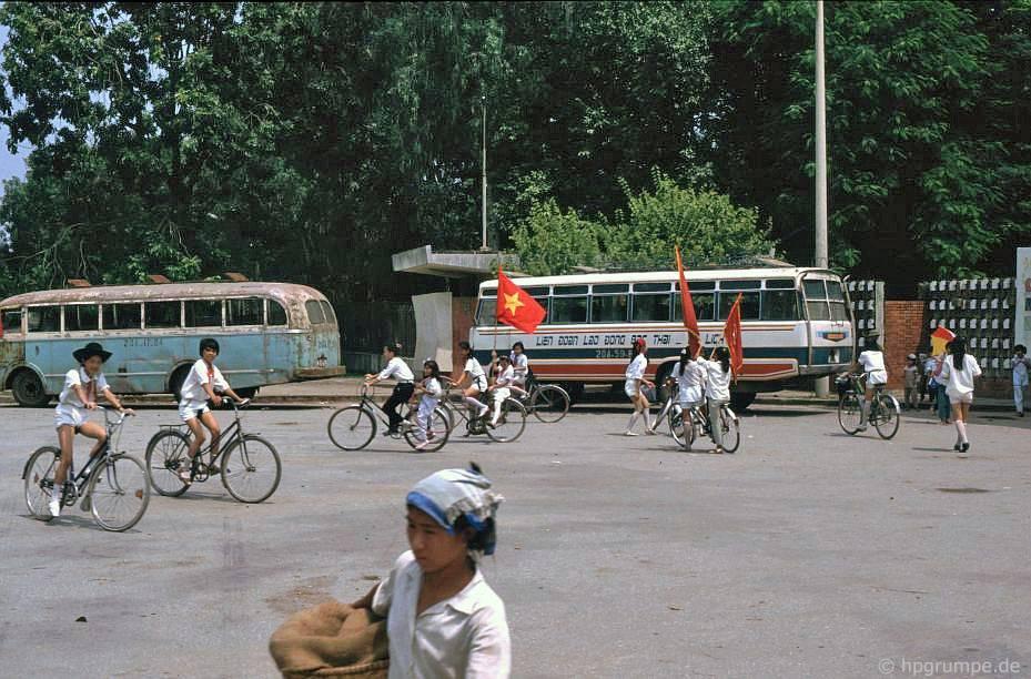 Hà Nội: Lối vào công viên Lê Nin