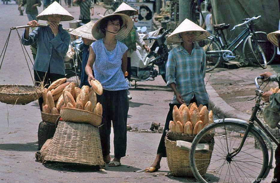 Hà Nội-Altstadt: baguette bán
