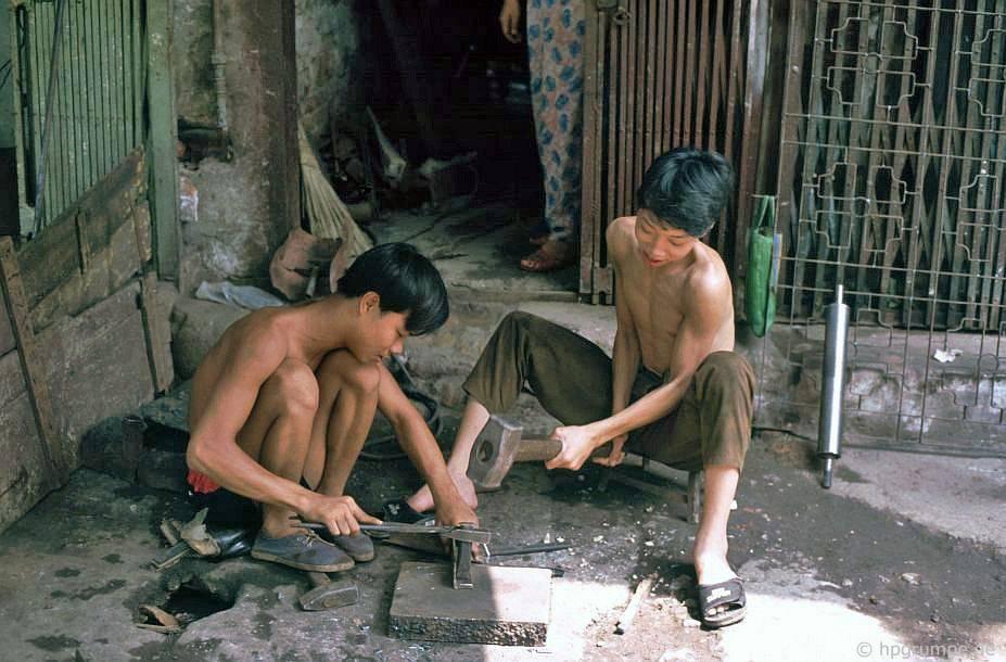 Hà Nội-Altstadt: thợ kim loại