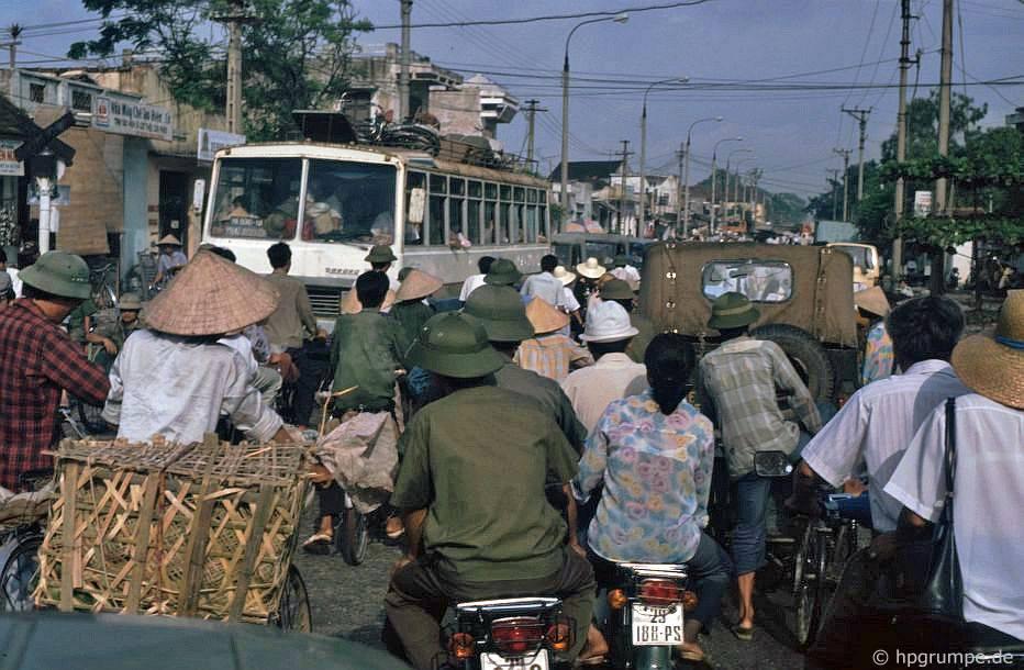Hà Nội: đường - giờ cao điểm