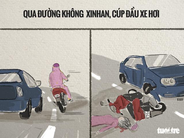 82,9% tai nạn trên đường là va chạm xe máy - Ảnh 5.