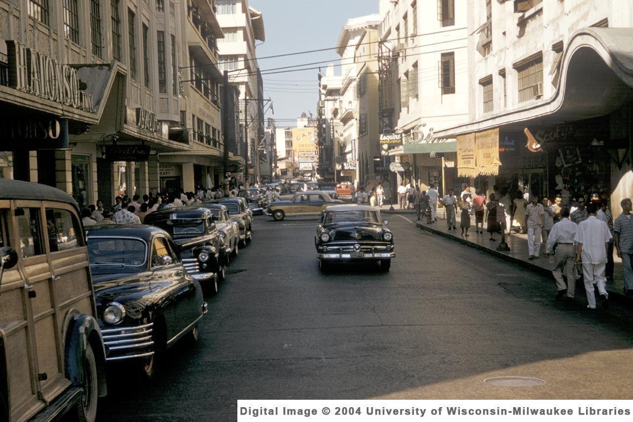 Những hình ảnh bất ngờ về Manila thập niên 1960
