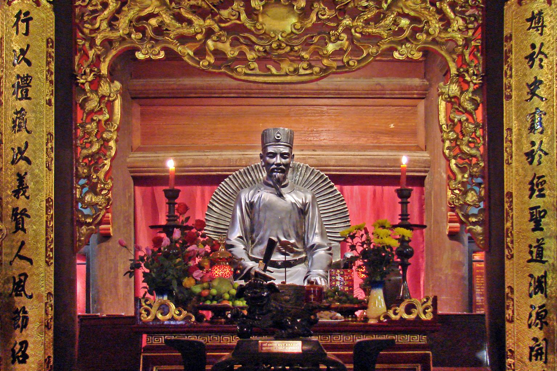 Chuyện cảm động về những người thầy của vua chúa Việt
