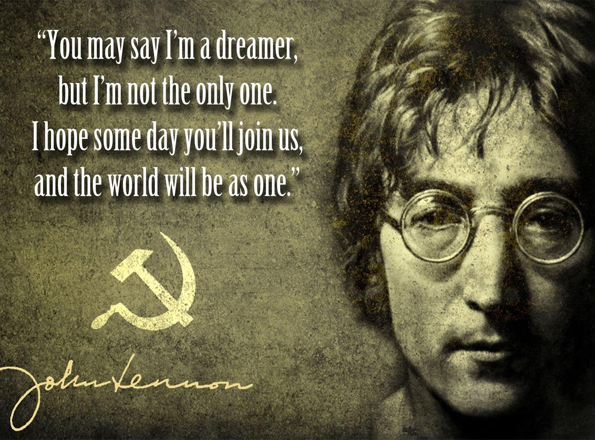 Imagine – bản Tuyên ngôn Cộng sản của John Lennon