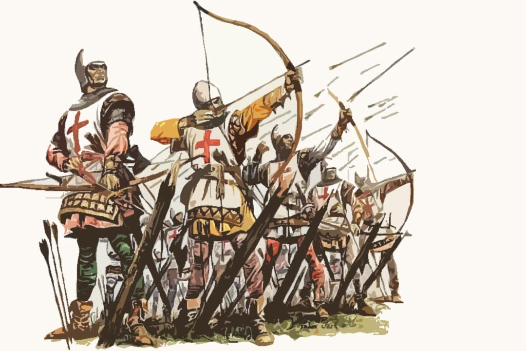 Huyền thoại về những người lính cung thủ trường cung Anh