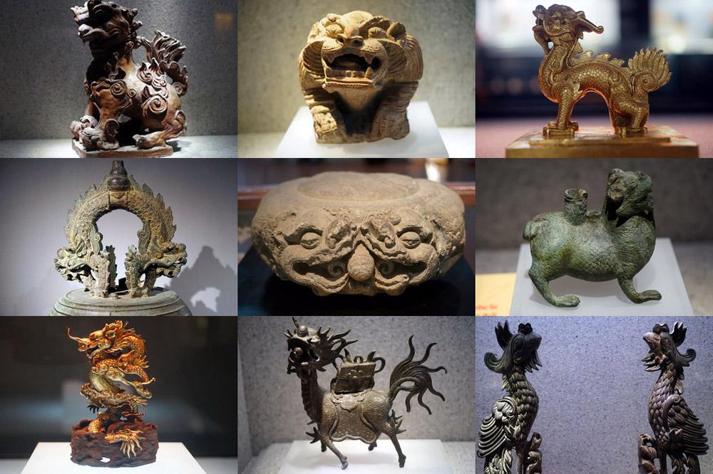 Chùm ảnh: Bộ sưu tập linh vật cổ quý giá nhất Việt Nam