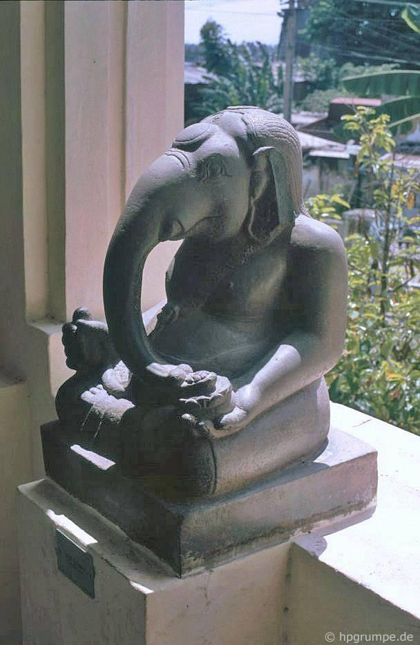 Đà Nẵng - Bảo tàng Chăm: Hình ảnh Ganesha
