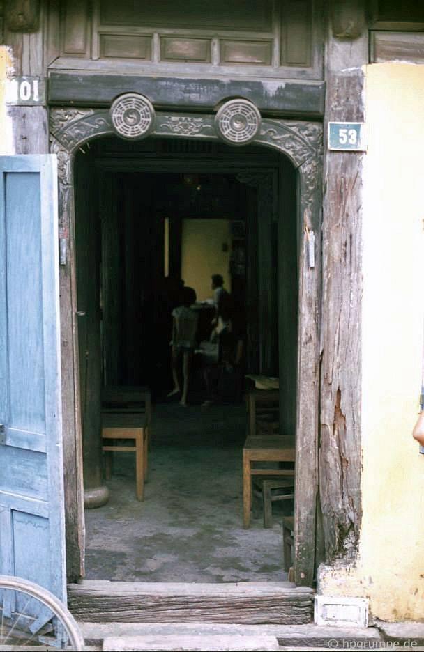 Hội An: lối vào nhà