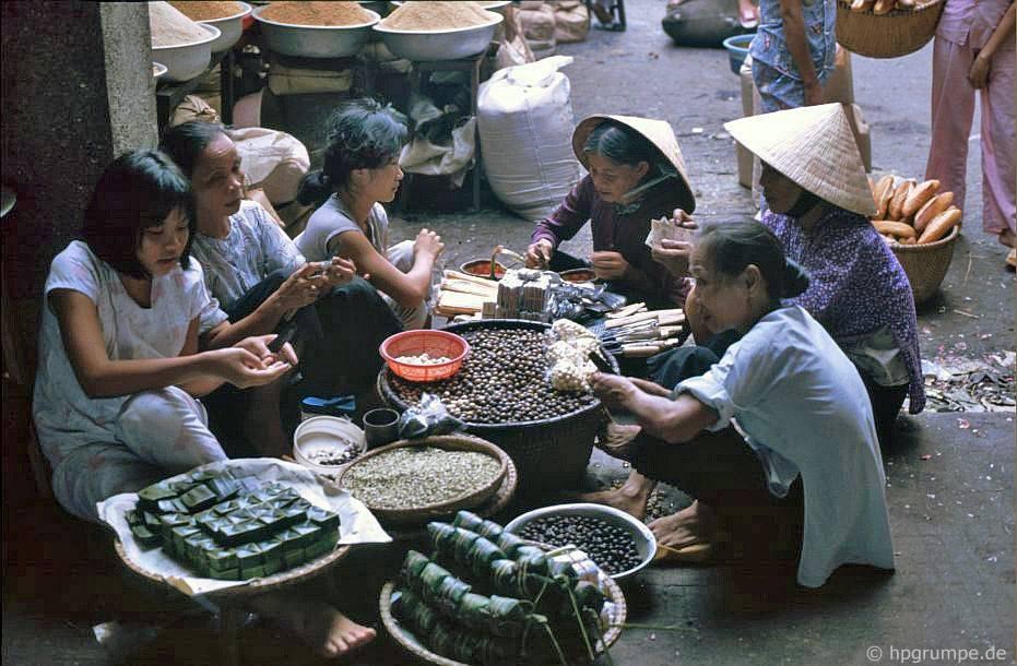 Huế: chợ