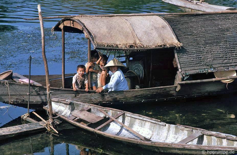 Huế: thuyền buồm