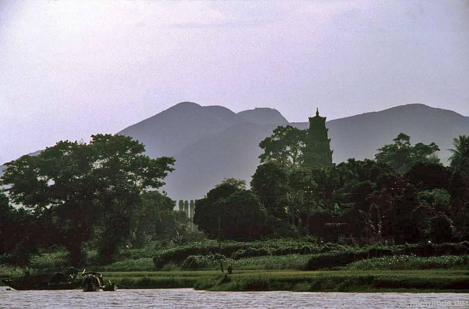 Huế: chùa và tu viện Tiên Mun
