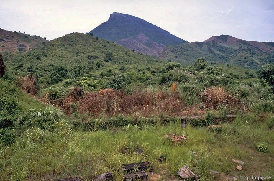 Tàn tích của Mỹ Sơn - chưa được đào lên