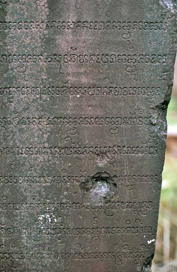 Ruins of My Son - viết bằng lỗ đạn