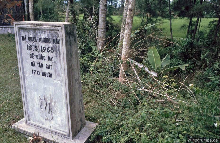 Đài tưởng niệm Mỹ Lai: Đài tưởng niệm 170 người bị giết